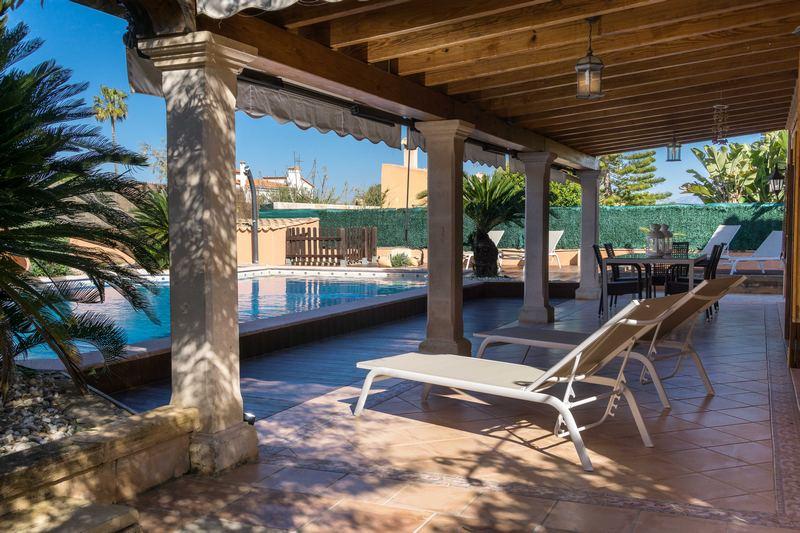Ferienfinca Mallorca Terrasse